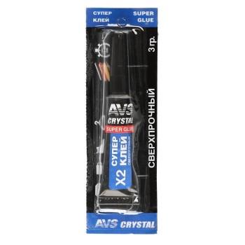 Супер клей AVS высокопрочный AVK-171, 3 гр.
