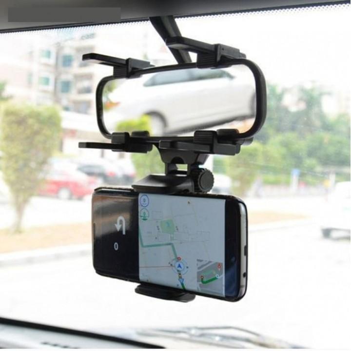 Держатель телефона на зеркало раздвижной 50-90 мм