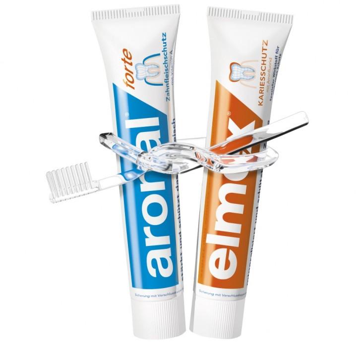 Зубная паста Elmex и Aronal 2x75 мл.