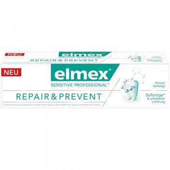 Зубная паста elmex® SENSITIVE PROFESSIONAL REPAIR & PREVENT 75 мл.