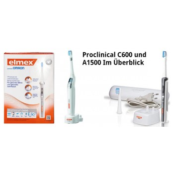 Электрическая зубная щетка Elmex® ProClinical® С600