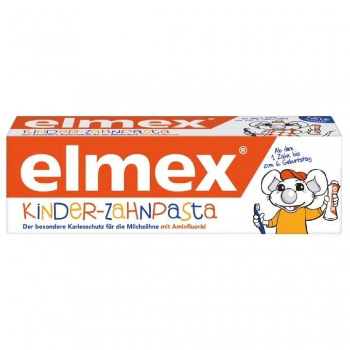 Детская зубная паста Elmex, Kinder-Zahnpasta, 50 мл.