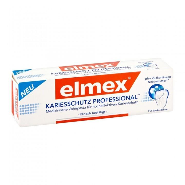 Зубная паста elmex KARIESSCHUTZ PROFESSIONAL