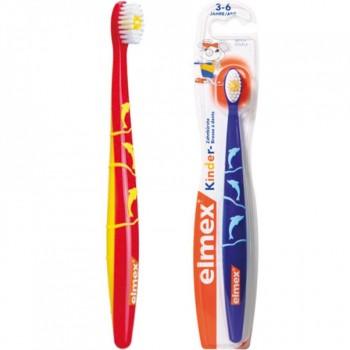 Elmex® детская зубная щетка 3-6 лет
