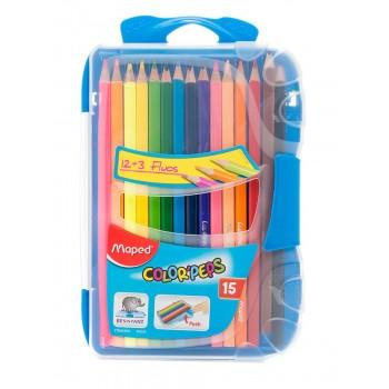 Набор цветных карандашей 12 штук, Maped