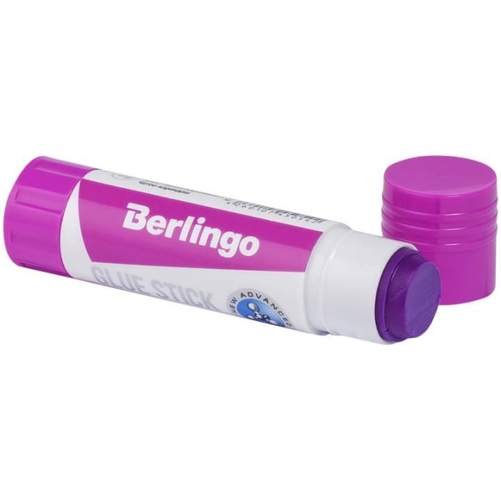 Клей-карандаш Berlingo с цветным индикатором, 08 г.