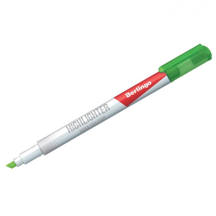 Текстовыделитель Berlingo зеленый, 0,5-4мм