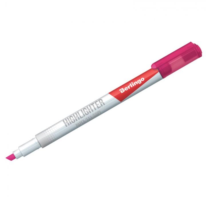 Текстовыделитель Berlingo , розовый, 0,5-4мм