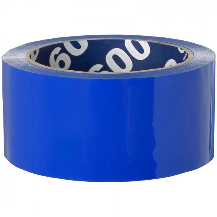 Клейкая лента упаковочная Unibob, 48мм*66м, 45мкм, синяя