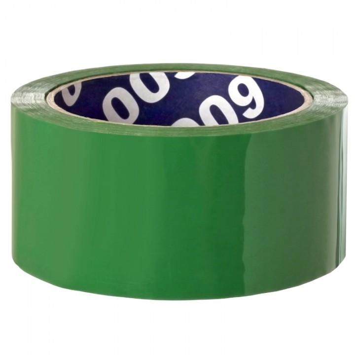 Клейкая лента упаковочная Unibob, 48мм*66м, 45мкм, зеленая
