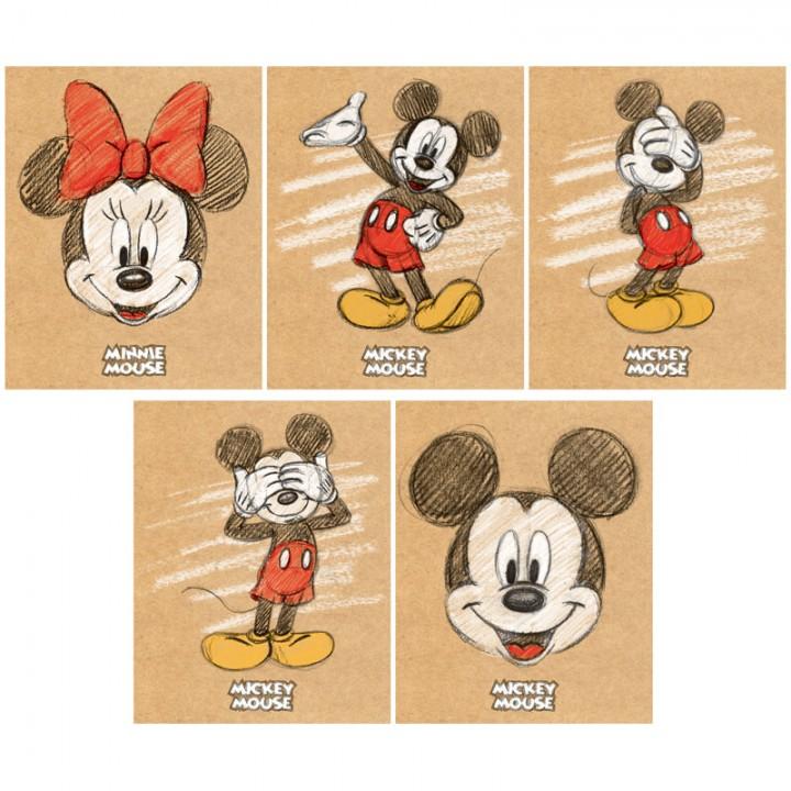 "Тетрадь 48л., А5, клетка Hatber ""Disney. Микки Маус"""