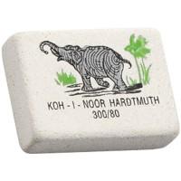 """Ластик Koh-I-Noor """"Elephant"""" 300/80, прямоугольный, натуральный каучук, 26*18,5*8мм"""
