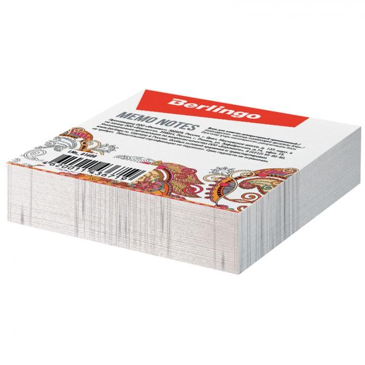Блок для записи декоративный на склейке Berlingo 8,5*8,5см, 200л.