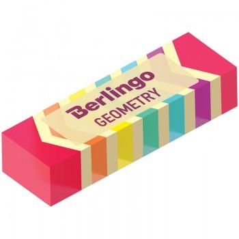 """Ластик Berlingo """"Geometry"""", прямоугольный, пластиковый, 48*15*10мм"""