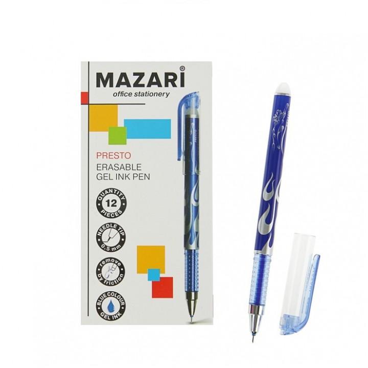 Ручка «Пиши-стирай» гелевая MAZARI Presto