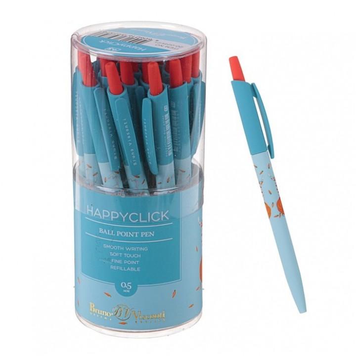 Ручка шариковая автоматическая BrunoVisconti. HappyClick «Зайка-жонглёр»