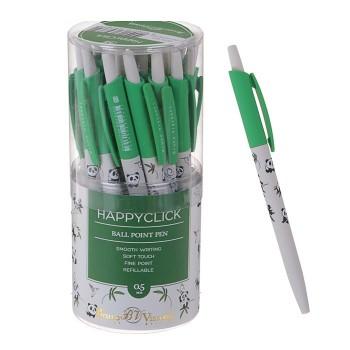 Ручка шариковая автоматическая BrunoVisconti. HappyClick «Панды»