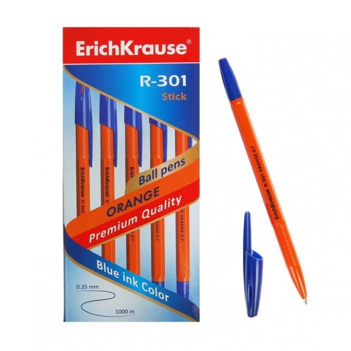 Ручка шариковая Erich Krause R-301 Orange Stick