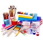 Принадлежности для рисования и лепки
