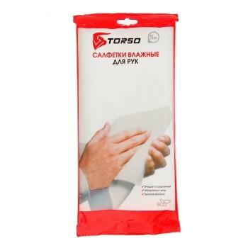 Влажные салфетки TORSO для очистки рук 25 шт.