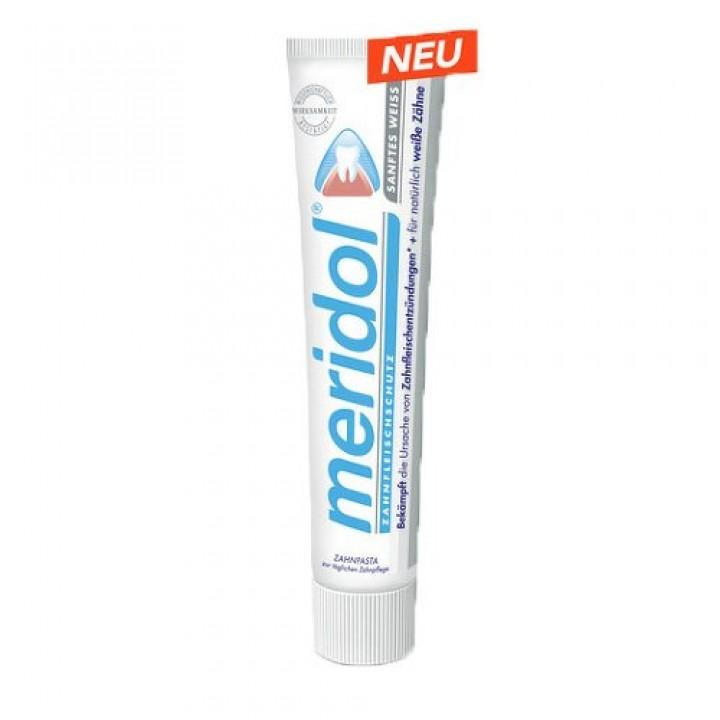 Зубная паста, Meridol (Меридол),отбеливающая зубная паста, 75 мл