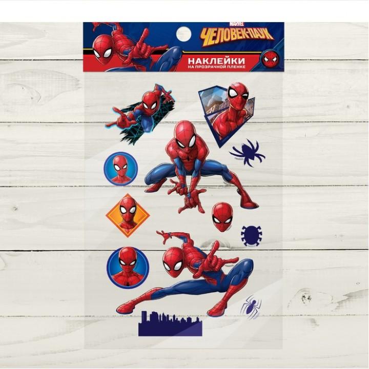 Наклейки на прозрачной пленке, Человек-паук