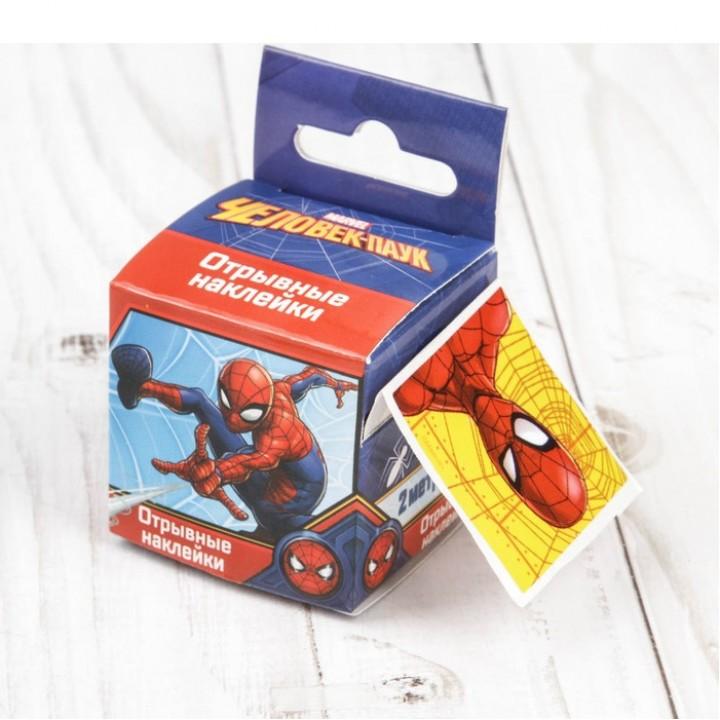 Наклейки отрывные в наборе Человек-паук