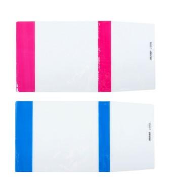 Обложка ПВХ 226х448 мм, 100 мкм, для учебников, цветной клапан, универсальная