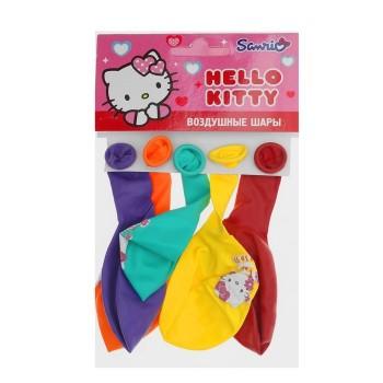 "Шар воздушный  ""Hello Kitty""  (набор 5 штук) 12"""