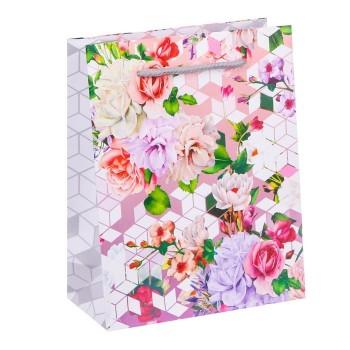 """Подарочный пакет """"Цветы"""""""