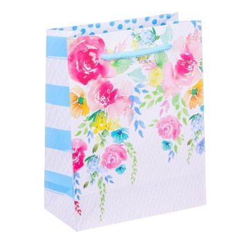 """Подарочный пакет """"Букет цветов"""""""